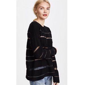 Madewell Black Daphne Milky Way Sweater O